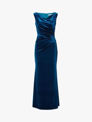Gina Bacconi Ramona Velvet Maxi Dress