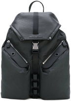 Emporio Armani front pocket backpack