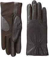 Isotoner Women's Stretch Leather smarTouch Gloves