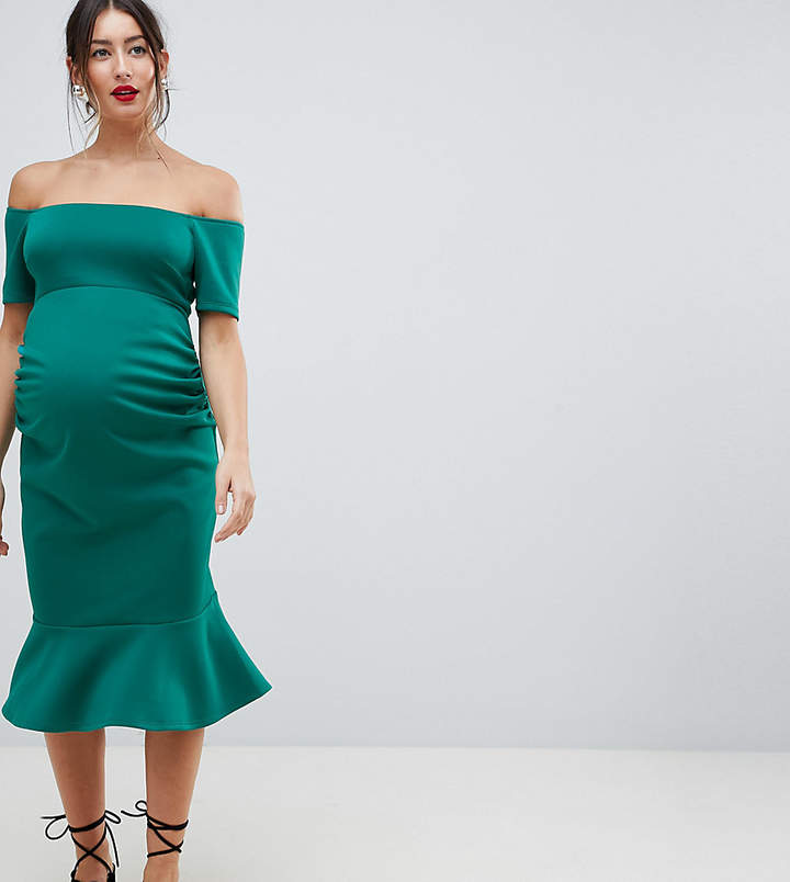 cea41e7b6b453 Maternity Dress Bandeau - ShopStyle