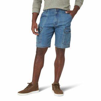 Wrangler Authentics Mens Big & Tall Classic Relaxed Fit Stretch Cargo Short