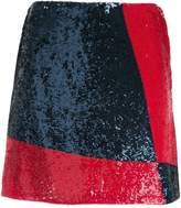 Polo Ralph Lauren sequinned mini skirt