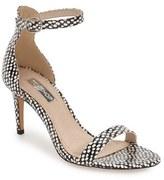 Topshop Women's 'Row' Skinny Ankle Strap Sandal