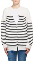 Stella McCartney Striped V-Neck Cardigan
