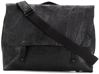 Transit Foldover Satchel Shoulder Bag