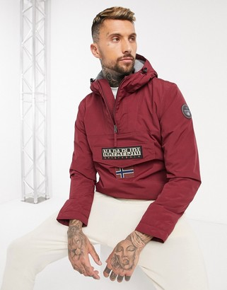 Napapijri Rainforest Winter Jacket In Burgundy