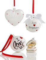"""Holiday Lane Our First"""" Ornament Collection, Created for Macy's"""