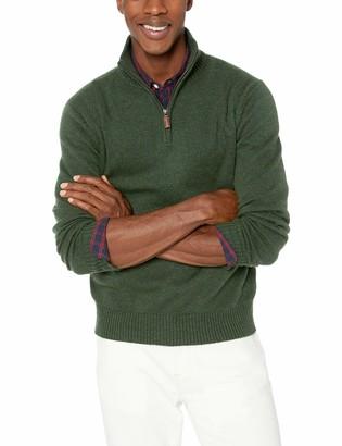 J.Crew Mercantile Men's Supersoft Wool Blend Half-Zip Sweater