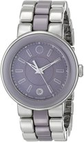 Movado Women's 0606553 Cerena Stainless Steel/Smokey Lilac Case Watch
