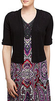 Allison Daley Elbow Sleeve Shrug