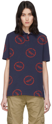 Martine Rose Navy Baba Polo