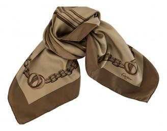 Cartier Beige Silk Scarves