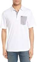 Travis Mathew Men's Schalock Contrast Pocket Polo