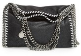 Stella McCartney 'Mini Falabella - Shaggy Deer' Faux Leather Tote - Black