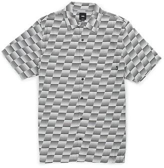 Vans Baker X Speed Check Buttondown Camp Shirt