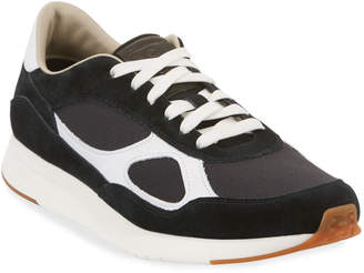 Cole Haan Men's Mixed Leather Trainer Sneakers
