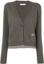 Fabiana Filippi deep v-neck cardigan