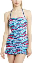 "Cleo by Panache Panache Cleo ""Tilly"" Underwire Bandeau Tankini Dress #CW0011"