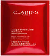 Clarins Super Restorative Instant Lift Serum Mask, 5 Pack