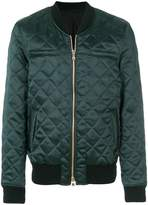 Balmain quilted bomber jacket