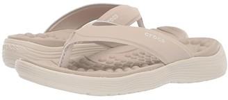 Crocs Reviva Flip (Cobblestone/Stucco) Women's Sandals
