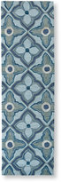 "L.L. Bean Easy-Care Hooked Mosaic Tiles Runner, 2'3"" x 7'6"""