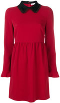 RED Valentino bow collar dress