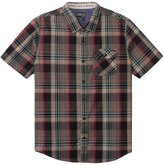 O'Neill Men's Emporium Plaid Short Sleeve Shirt 8141052