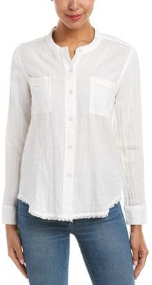 Splendid Women's Double Cloth Button Up