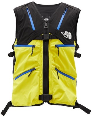 The North Face Black Series - Contrast-zip Futurelight-shell Gilet - Mens - Black Yellow