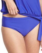 Athena Cabana Solids Landa Mid-Rise Hipster Swim Bottom