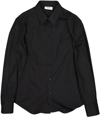 Celine Black Cotton Shirts