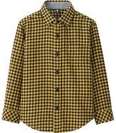 Uniqlo Boys Flannel Check Long Sleeve Shirt