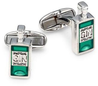 Paul Smith Gin Bottle Cufflinks