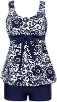 Wantdo Women's Summer Style Swimwear Swimsuit Tankinis Over Size Big Bust Dress
