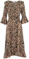 At Last... Leopard Felicity Dress