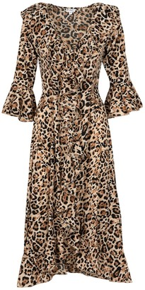 Felicity Dress- Leopard Dress