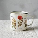 Enamel Wildflower Mug