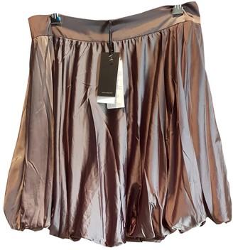 Elisabetta Franchi Metallic Skirt for Women