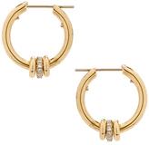 Spinelli Kilcollin Ara Hoop Earrings in Metallics.
