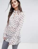 AllSaints Deirdre Ruffle Shirt