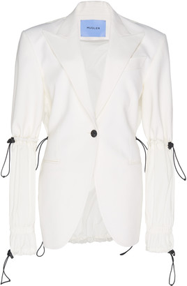 Thierry Mugler Drawstring Tailored Jacket