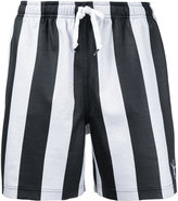 Alexander Wang striped soccer shorts - men - Cotton/Polyamide/Polyester/Spandex/Elastane - 46