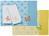 Lenox Butterfly Meadow Embroidered Butterfly Trellis Napkin