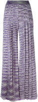 Missoni knitted palazzo trousers - women - Nylon/Viscose - 42