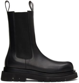 Bottega Veneta Black Medium The Tire Chelsea Boots