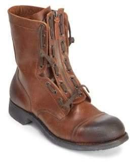 Maison Margiela Zip Front Leather Boots