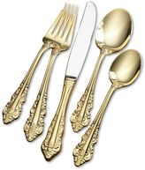 Wallace Antique Baroque 80-pc. Gold-Plated Flatware Set