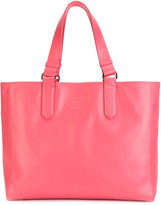 Lanvin large boxy tote - women - Cotton/Calf Leather - One Size