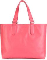 Lanvin shopper tote - women - Calf Leather/Cotton - One Size